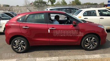 Toyota Glanza spied - Image Gallery