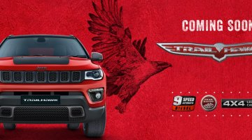 Jeep Compass Trailhawk listed on Indian website, 9-AT confirmed
