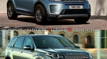 2019 Land Rover Discovery Sport vs. 2015 Land Rover Discovery Sport - Old vs. New