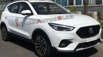 2020 MG ZS (facelift) leaked, looks sportier than the India-bound MG eZS