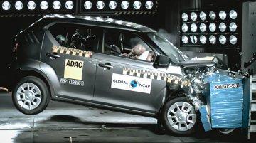 India-made Suzuki Ignis scores 3 starts at Global NCAP crash test