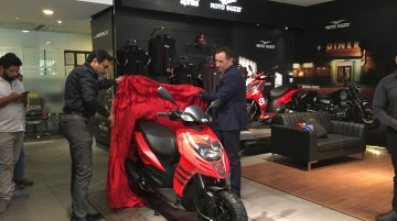 Piaggio announces the India launch of Aprilia Storm 125
