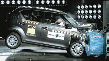 भारत में बनी Suzuki Ignis को NCAP क्रैश टेस्ट में मिले 3 स्टार