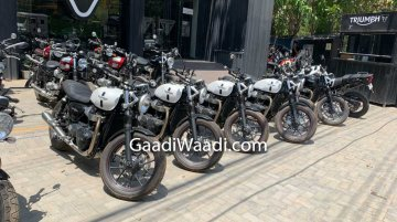 Triumph Motorcycle's Delhi dealership offering massive discounts on limited models