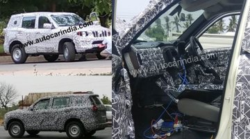2020 Mahindra Scorpio interior spied for the first time