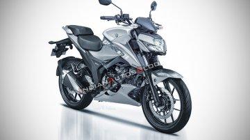 Suzuki Gixxer 250 - IAB Rendering