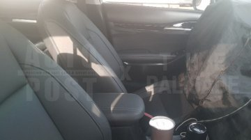Kia Seltos interior spied, features rear AC vents and Bose sound system