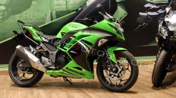 Kawasaki Ninja 300's sales match TVS Apache RR310 in May