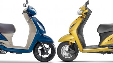 TVS Jupiter ZX vs Honda Activa 5G - Tech Spec and Feature Comparison