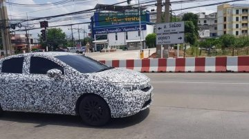 2020 Honda City makes spy photo debut in Thailand