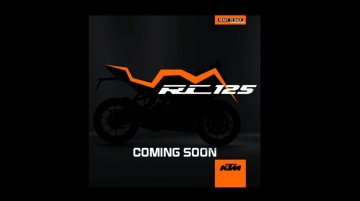 KTM RC125 teased ahead of Indian launch