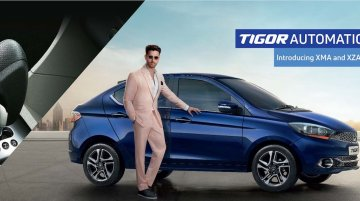 Tata Tigor gains XMA and XZA+ AMT grades in India