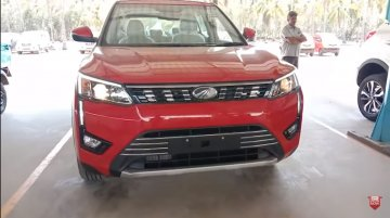 Mahindra XUV300 AMT starts arriving at dealerships [Video]