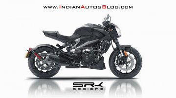 IAB Rendering of Dominar LiveWire brings best of Bajaj and Harley-Davidson together [Video]