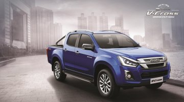 Isuzu D-Max V-Cross 1.9 diesel-automatic launched, priced at Rs 19.99 lakh