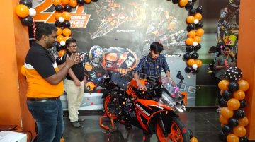 KTM RC125 deliveries in India commence