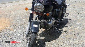 Next-gen Royal Enfield Classic spied up close for the first time