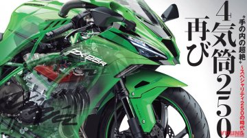 Upcoming 60PS four-cylinder Kawasaki ZX-25R pricing revealed - Report
