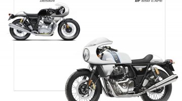 Autologue Designs presents custom fairing for Royal Enfield Continental GT 650