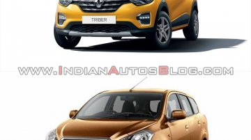 Renault Triber vs Datsun GO+: Comparison of Design, Specs & Features