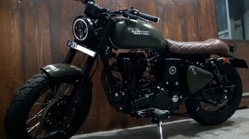 Modified Royal Enfield Classic 500 - Image Gallery