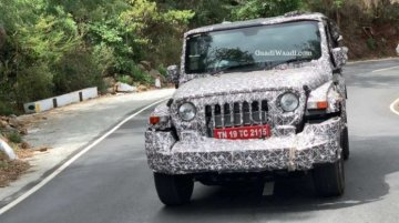 Next-gen 2020 Mahindra Thar spied yet again in clear pictures