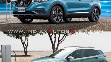 Hyundai Kona Electric vs MG eZS : Design, Specs & Features Compared