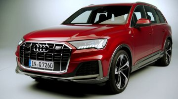 India-bound 2019 Audi Q7 (facelift) - Exterior & Interior Footage (Studio)