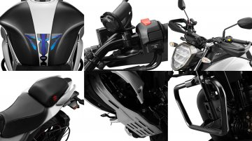 Official accessories for the 2019 Suzuki Gixxer 155 (facelift) revealed