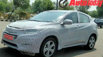 Honda HR-V local testing continues in India ahead of launch this year