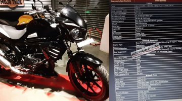 Full spec-sheet of the Mahindra Mojo 300 ABS leaked ahead of launch