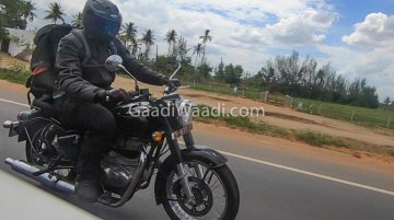 Next-gen Royal Enfield Classic BS-VI spied during road test