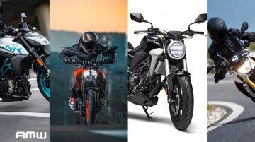 CFMoto 300NK vs. KTM 390 Duke vs. Honda CB300R vs. BMW G 310 R - Spec Comparo
