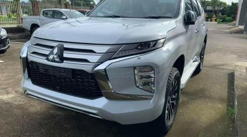 India-bound 2019 Mitsubishi Pajero Sport (facelift) spied up close