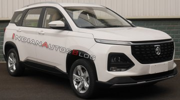 Facelifted Baojun 530 (facelifted MG Hector) exterior leaked