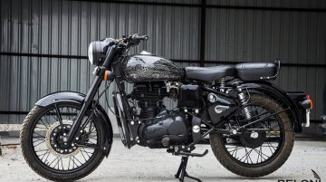 Modified Royal Enfield Classic 350 gets a subtle upgrade from Eimor Customs