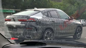 Third-gen BMW X6 spied in India for the first time