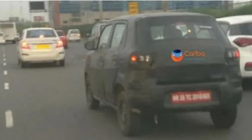 Maruti Suzuki S-Presso spied ahead of September launch