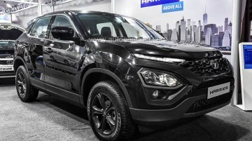 All-black Tata Harrier unveiled at AGM, to be launched next month - Report