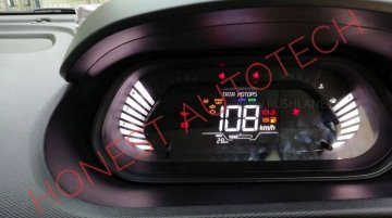 New Tata Tiago (facelift) spied with fully digital instrument panel