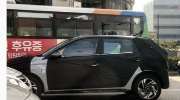 Next-gen 2020 Hyundai i20 with new alloy wheels spied in South Korea