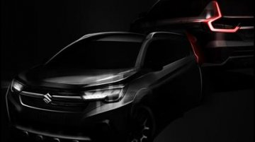 Maruti XL6 teased ahead of launch this month