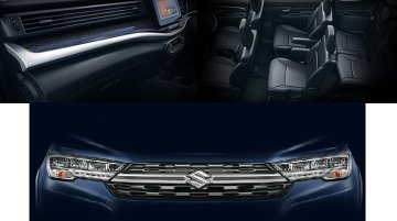 Maruti Suzuki XL6 interior revealed in new teasers