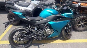 India-bound CFMoto 250SR (CFMoto 300SR) spied again