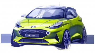Sportier and funkier Euro-spec next-gen Hyundai i10 teased