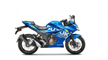 Suzuki Gixxer SF 250 MotoGP Edition launched in India at INR 1,71,456