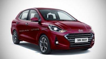 Hyundai Xcent के नए मॉडल की टेस्टिंग जारी, स्पाई तस्वीरें लीक