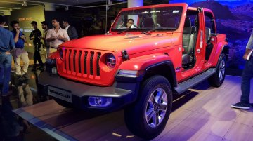 Jeep Wrangler JL launched in India, priced at INR 63.94 lakh
