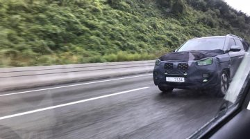 2020 SsangYong Rexton (facelift) spied for the first time