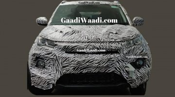2020 Tata Nexon (facelift) spied, features sharper headlamps and grille